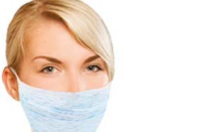 Face masks should be your first line of defense in thwarting the spread of deadly airborne viruses and bacteria such as Avian Flu. Swine Flu, SARS, and Tuberculosis.Swine flu, avian flu, face masks, respirators, Influenza, containment.